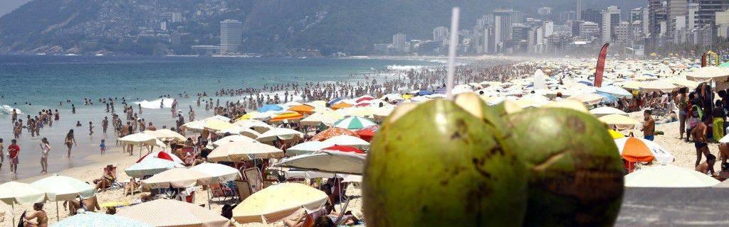 Praia de Copacabana; Rio 40 graus