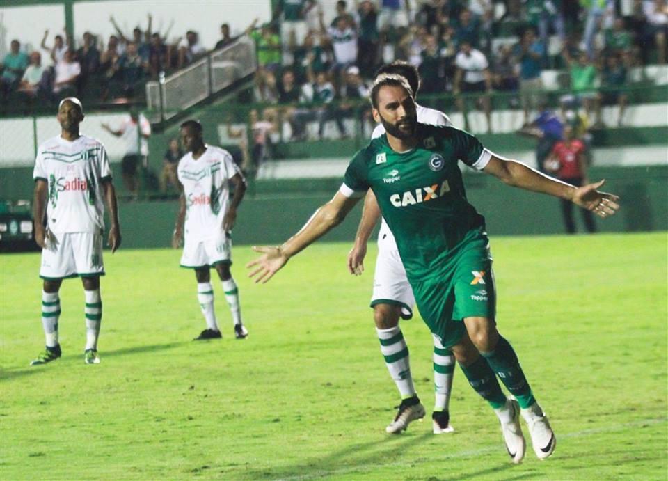 'Léo Gamalho não joga mais pelo Goiás em 2017 | Foto: Rosiron Alves/Goiás EC
