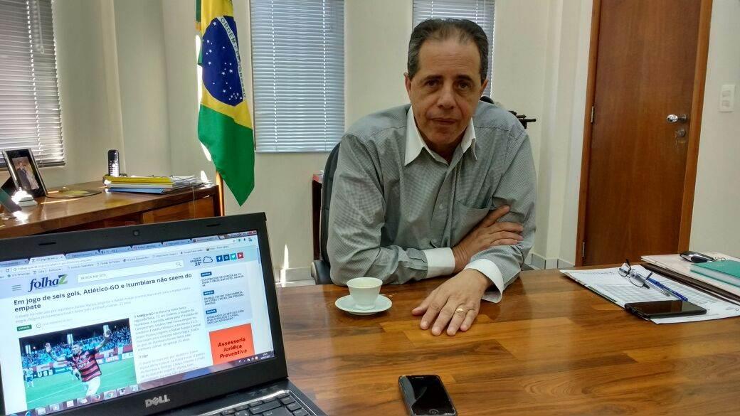 Presidente do Sindilojas-Goiás, José Carlos Palma Ribeiro fala sobre atestados digitais | Foto: Guilherme Coelho