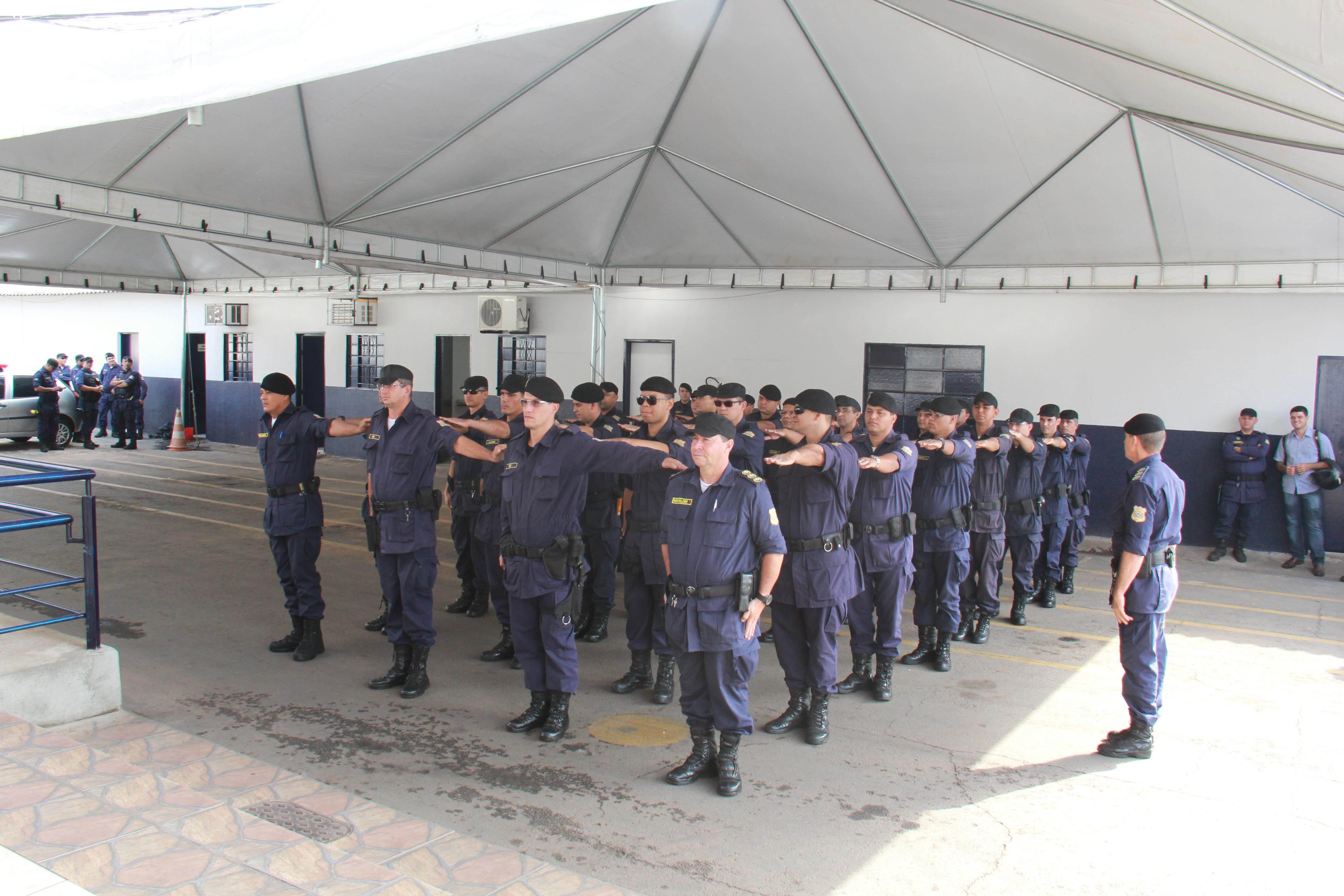 Guarda Municipal de Goiânia   Foto: Cecílio Alves