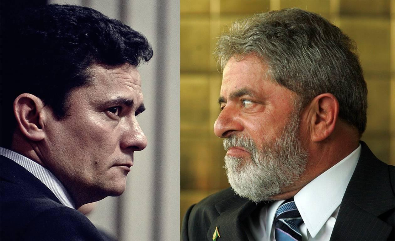 Lula vs Moro na gaiola das vaidades | Foto: Reprodução