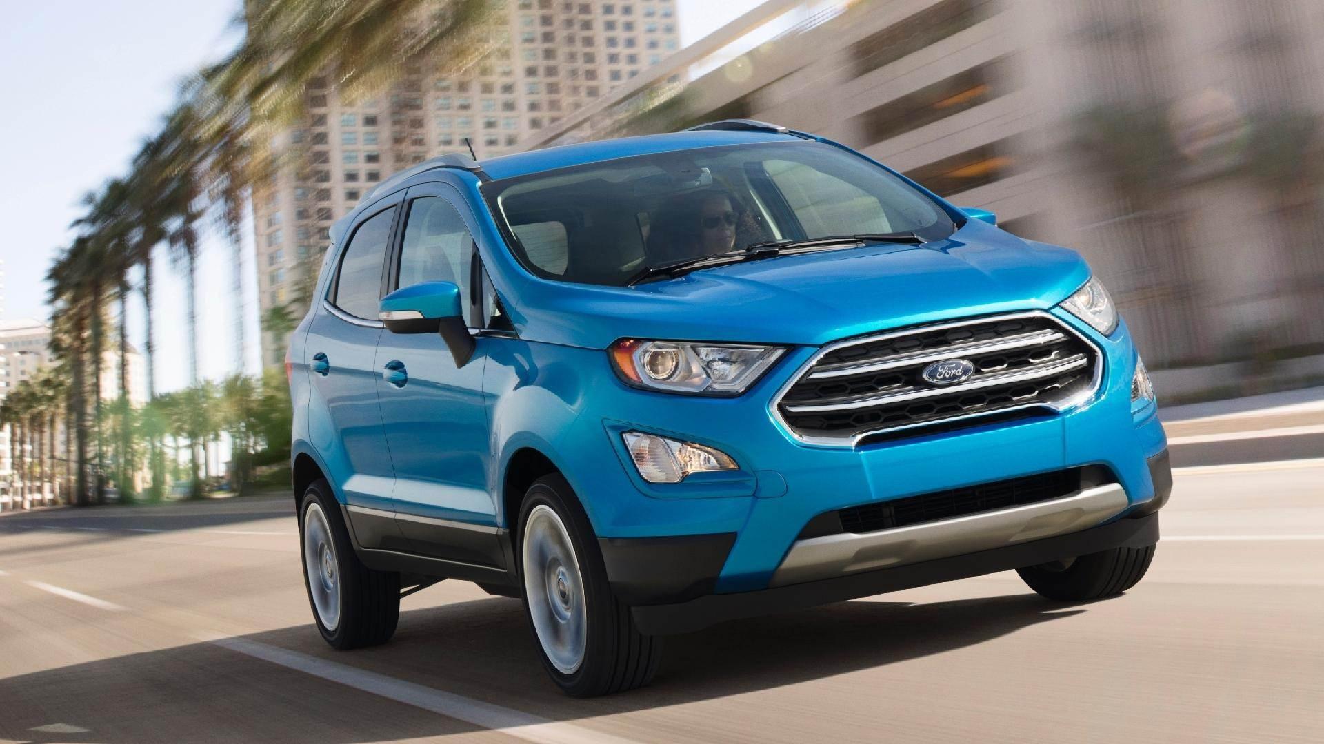 6º lugar: Ford Ecosport – 35 pontos   Foto: Divulgação