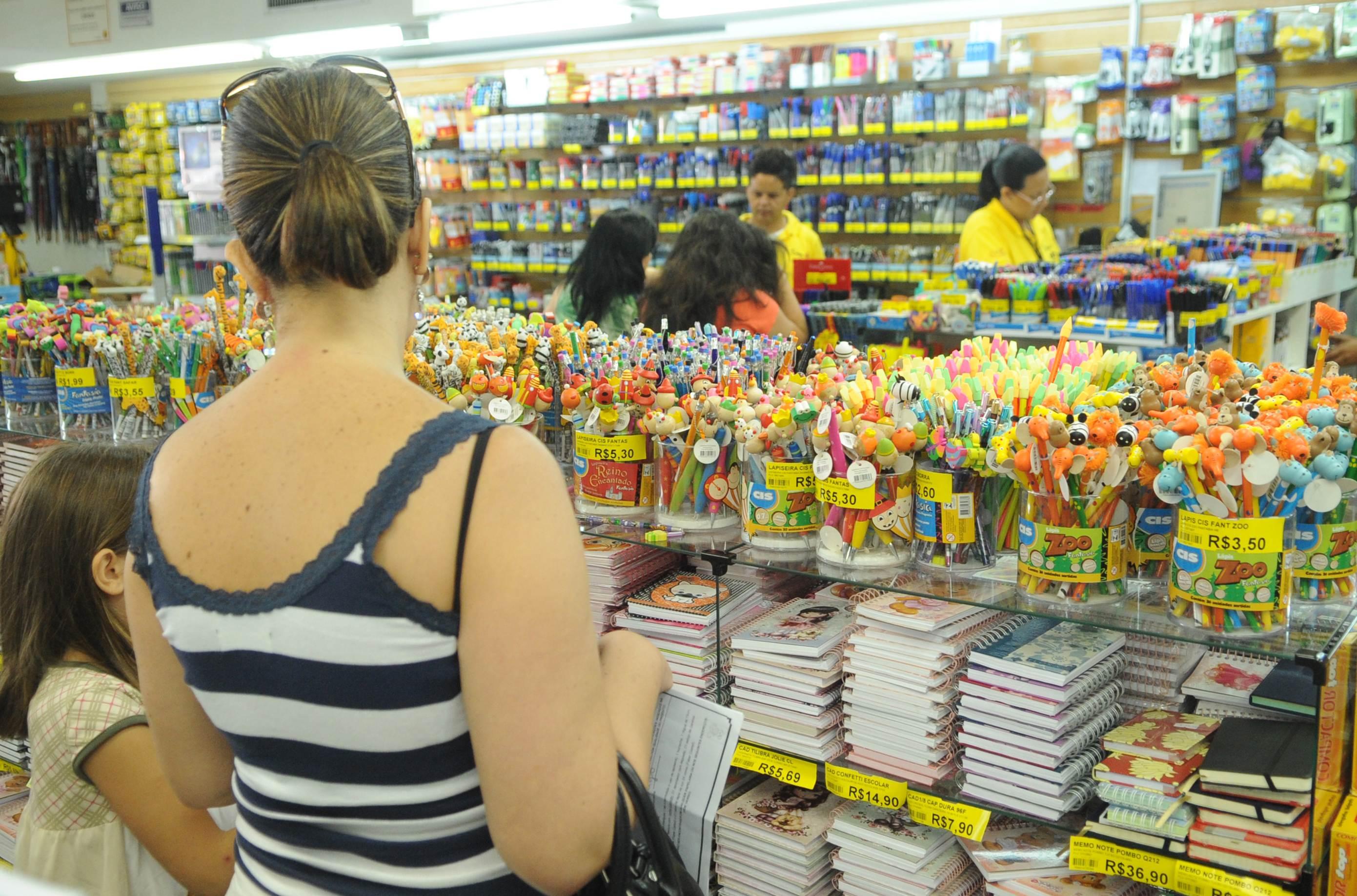 Materiais escolares de uso coletivo não precisam ser comprados pelos responsáveis dos alunos | Foto: Wilson Dias/Arquivo/ABR