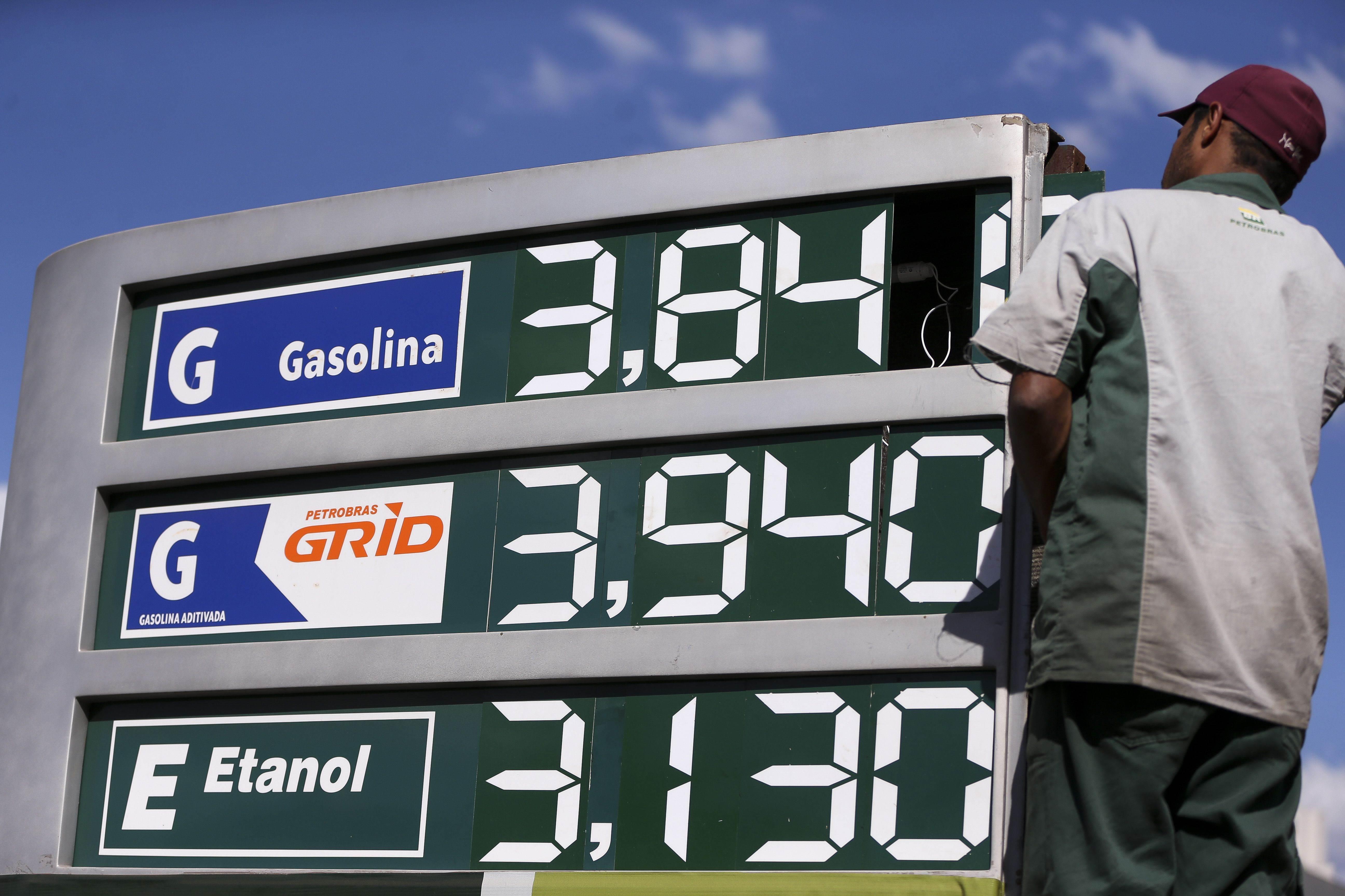Postos de combustíveis subiram preço dos combustíveis na Grande Goiânia em agosto | Foto: Marcelo Camargo/Agência Brasil
