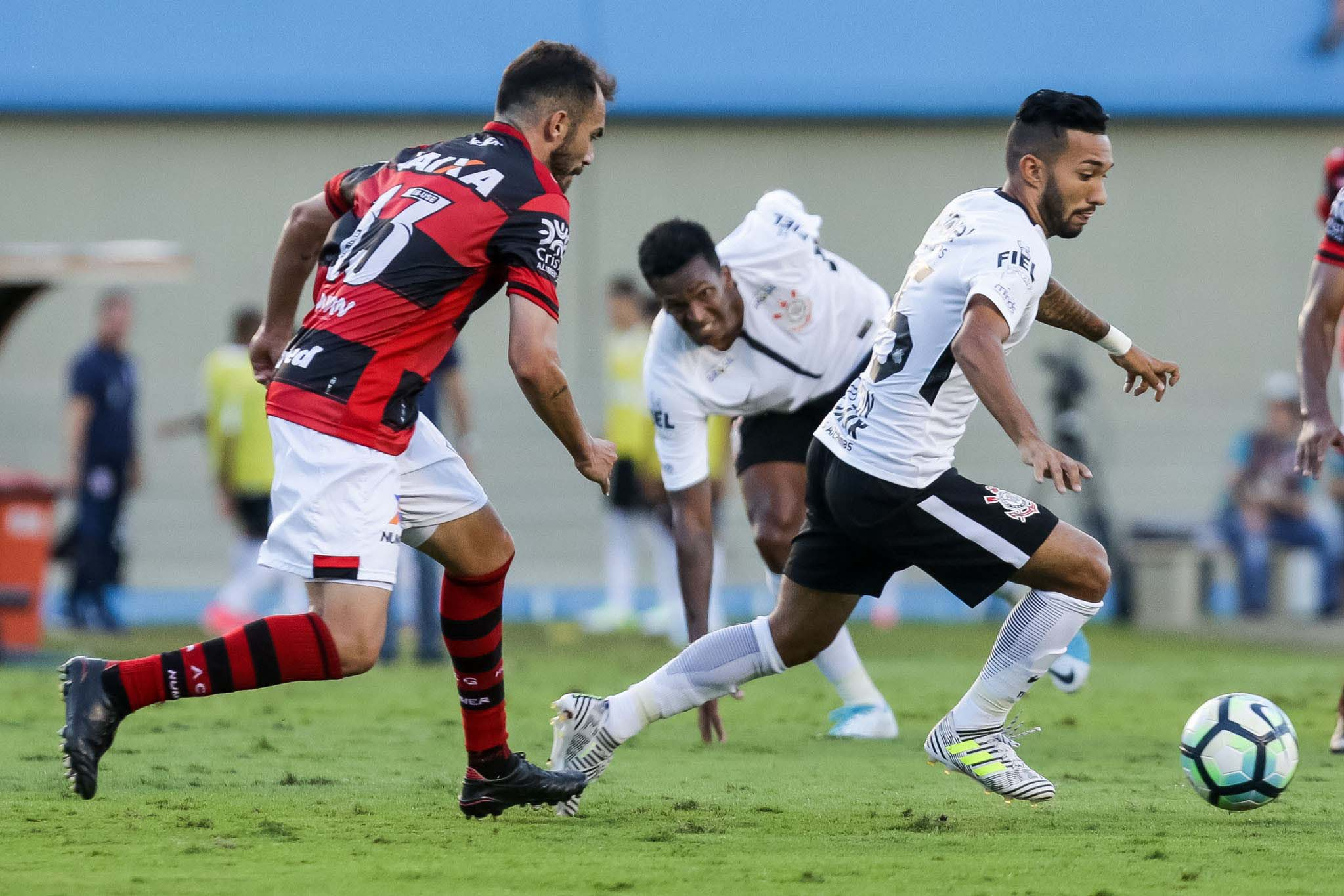 Atlético e Cortinhians negociam jogadores | Foto: Rodrigo Gazzanel / Agência Corinthians