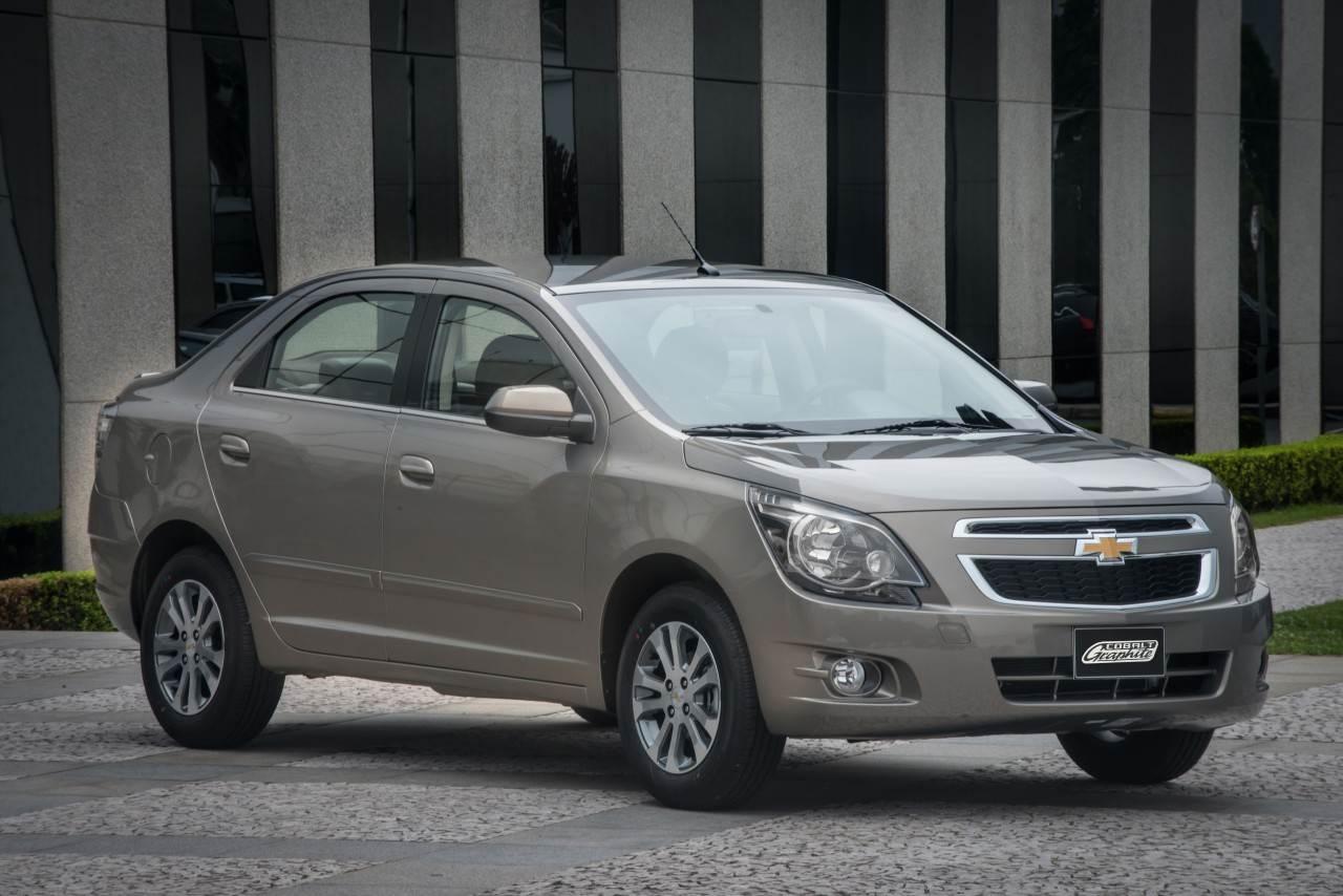 Chevrolet Cobalt ocupou a terceira colocação em segurança de acordo com o índice Car Group   Foto: Divulgação