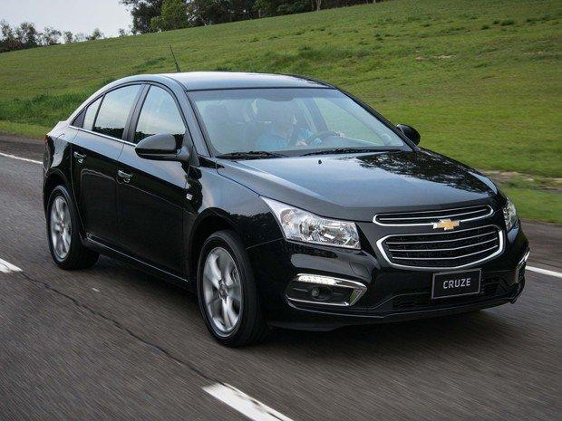 Chevrolet Cruze é o campeão em segurança de acordo com o índice Car Group   Foto: Divulgação