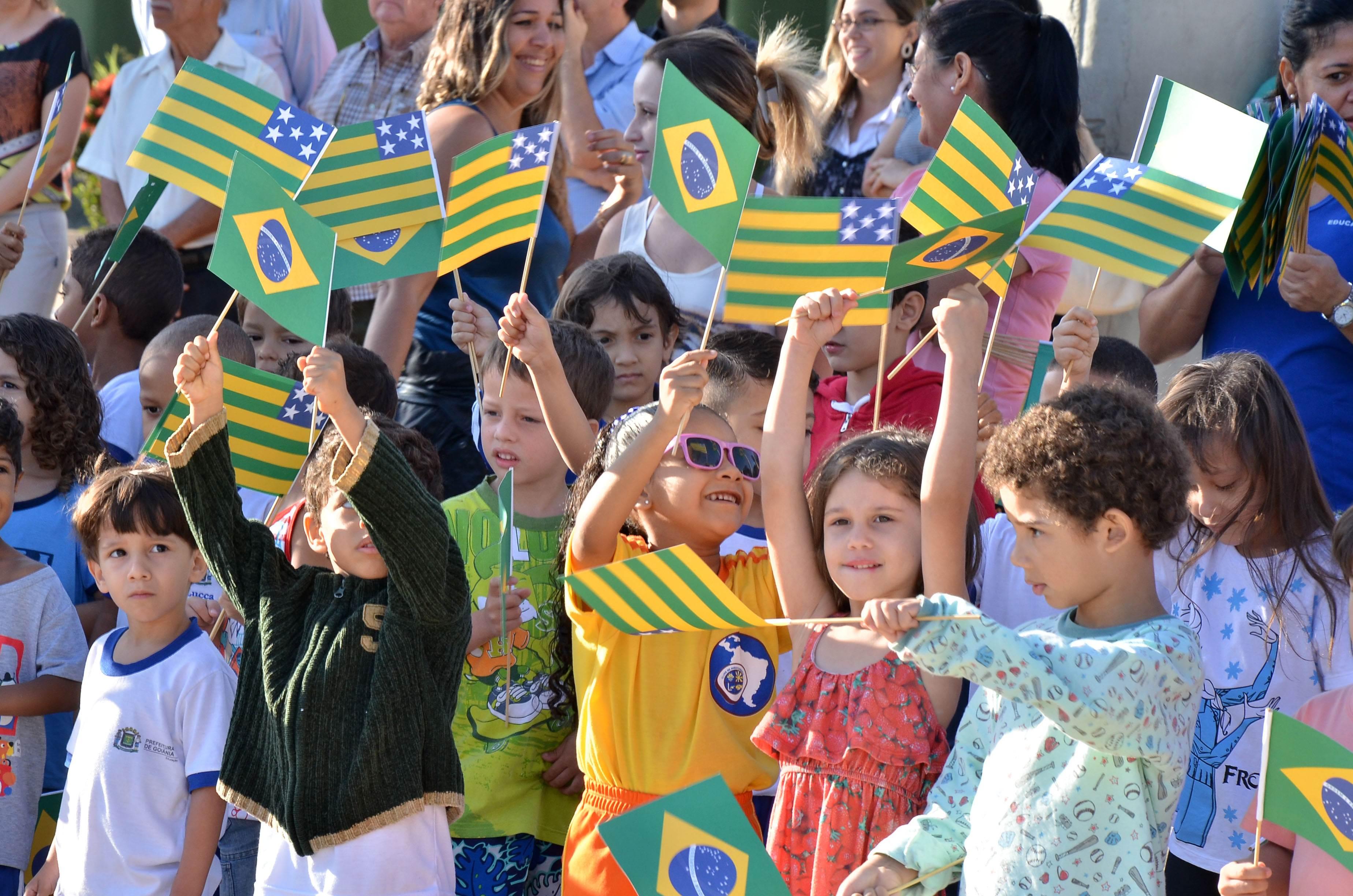 Hino de Goiás será obrigatório em escolas e eventos oficiais | Foto: Eduardo Ferreira