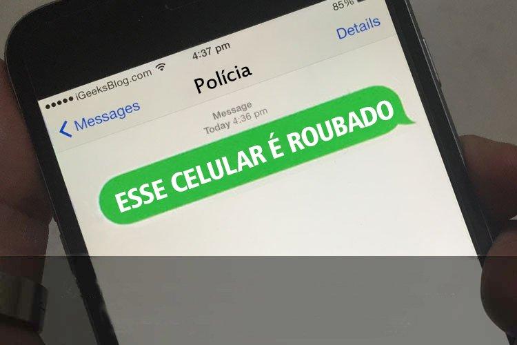 Mensagem surpreendeu vítima em Goiânia | Foto: Ilustrativa