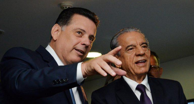 Governador Marconi Perillo e prefeito Iris Rezende | Foto: Wagnas Cabral