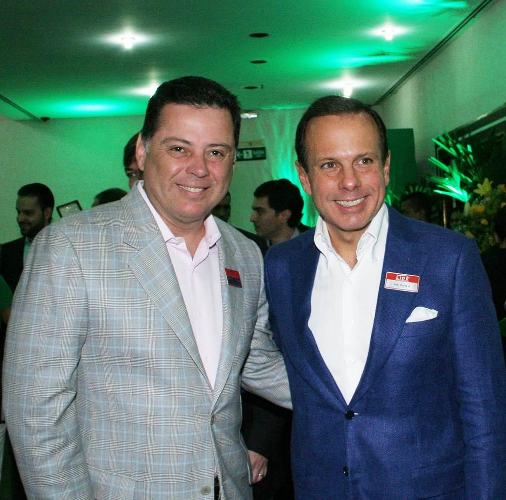 Governador de Goiás Marconi Perillo e prefeito de São Paulo João Dória | Foto: Reprodução