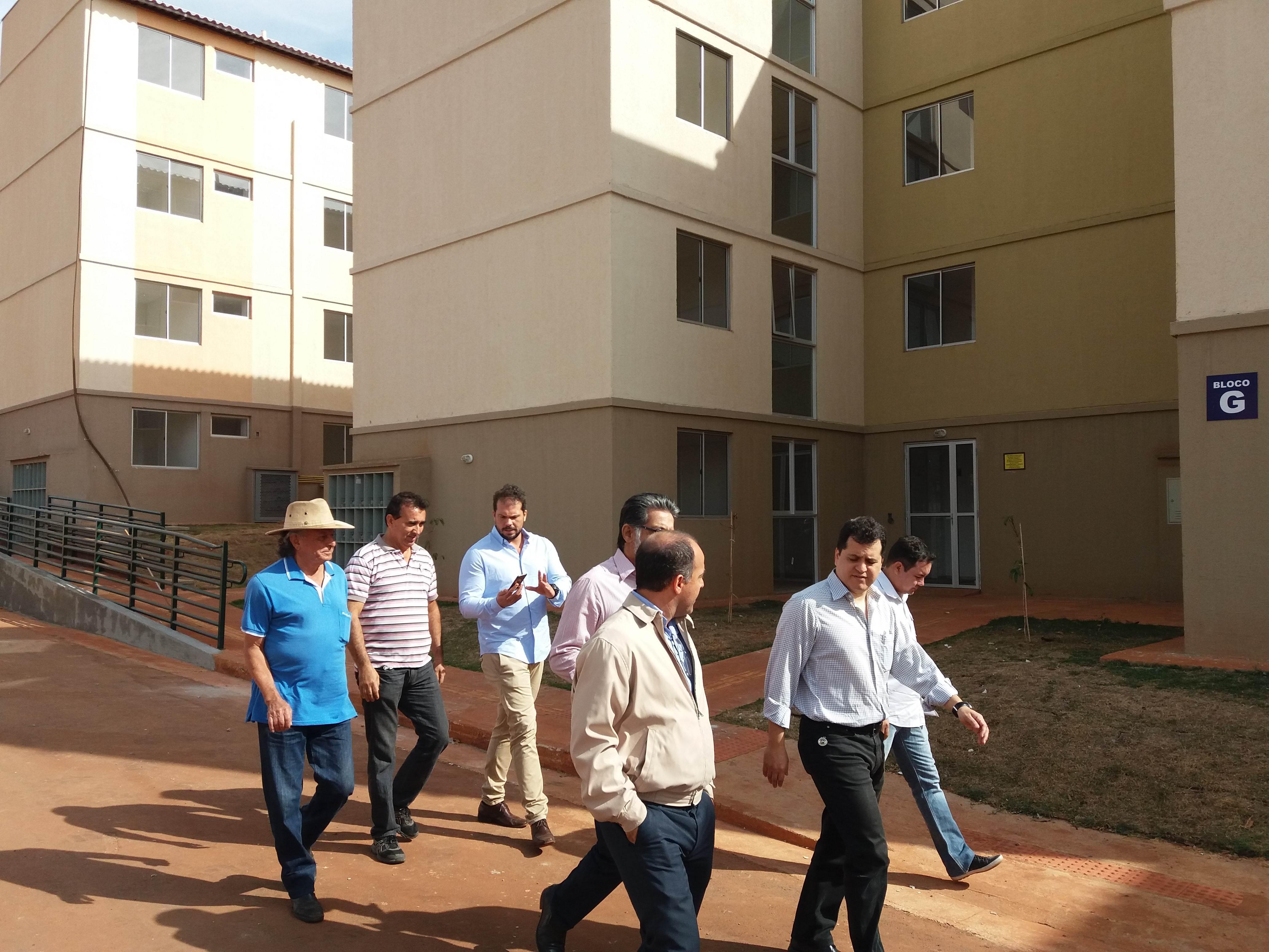 Vistoria no Setor Vera Cruz | Foto: Prefeitura de Goiânia
