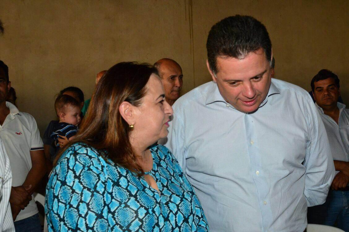 Deputada estadual Eliane Pinheiro (PMN) e governador de Goiás Marconi Perillo (PSDB) | Foto: Divulgação