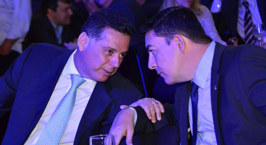 Governador Marconi Perillo e presidente da Alego José Vitti | Foto: Reprodução