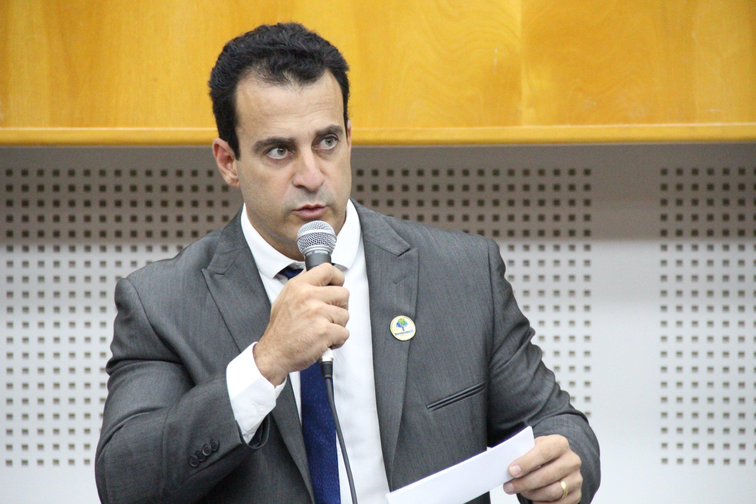 Vereador Paulo Daher (DEM), autor da proposta | Foto: Reprodução / Câmara Municipal