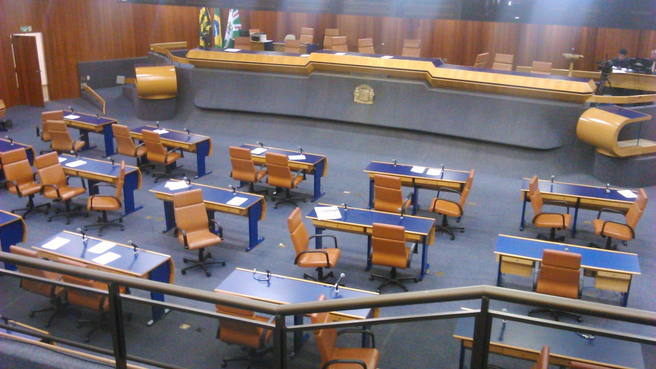 Plenário da Câmara de Goiânia tende a ficar mais cheio caso projeto seja aprovado | Foto: Divulgação