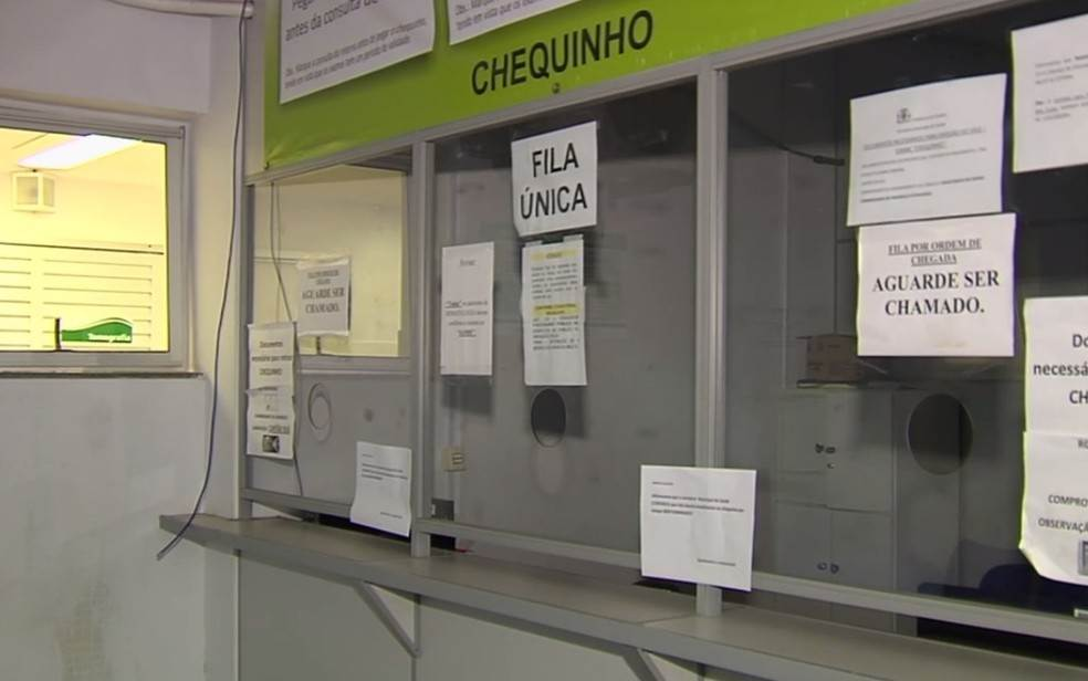 Prefeitura de Goiânia anuncia novo sistema que dará fim às filas do chequinho no sistema de Saúde | Foto: Reprodução / Tv Anhanguera