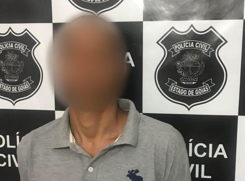 Homem foi preso nesta sexta-feira, 27 | Foto: Divulgação / Polícia Civil