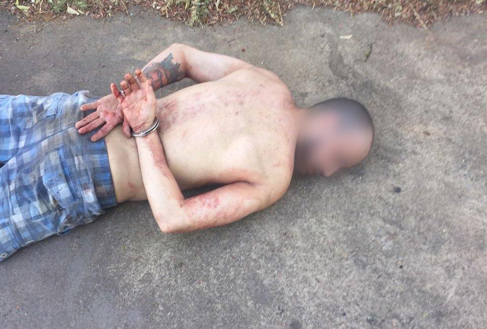 Criminoso de 25 anos foi preso após tentativa de latrocínio   Foto: Divulgação / PM
