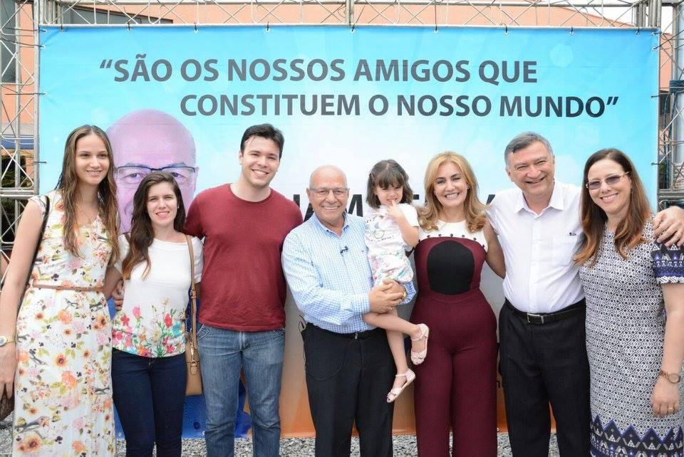 Professor Alcides Ribeiro comemorou 64 anos de vida no último domingo, 29 | Foto: Reprodução / Facebook