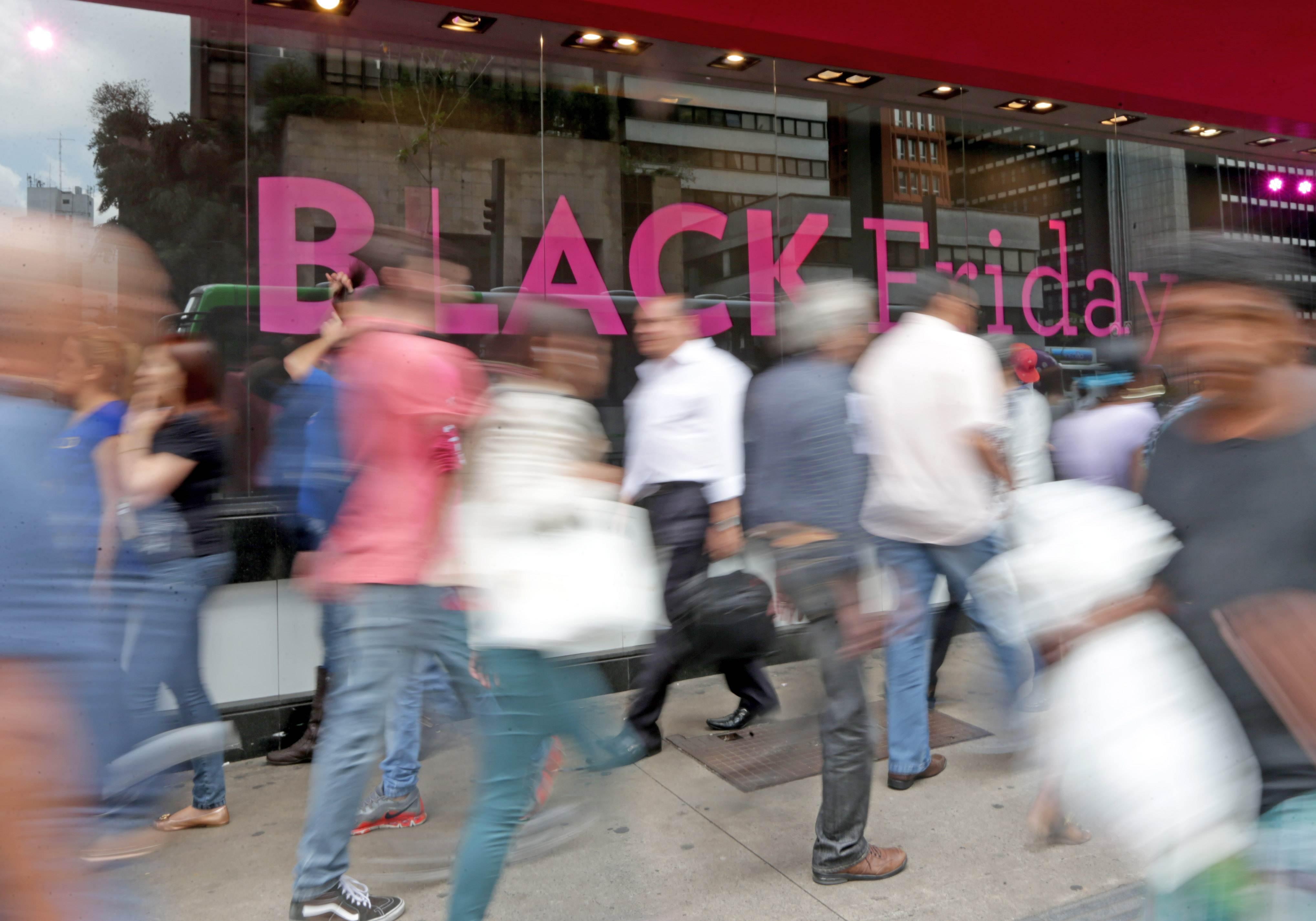 Black Friday 2017 é o período de liquidação antes do Natal | Foto: Paulo Pinto / Fotos Públicas