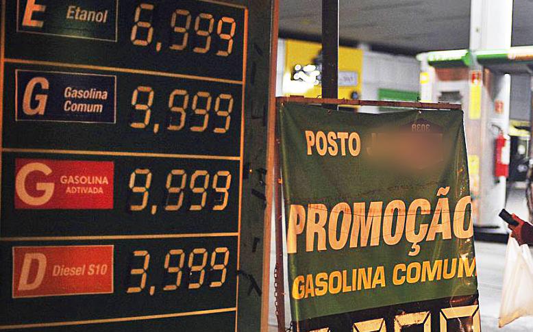 Preços da gasolina e etanol disparam em postos de combustível com a crise de desabastecimento | Foto: Marcelo Casal /Agencia Brasil