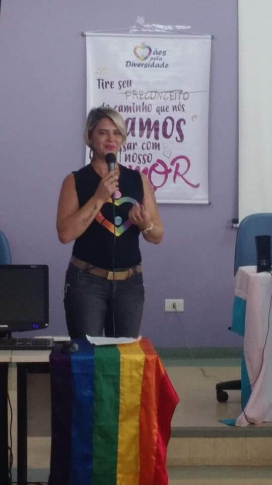 Rosana Cintra, coordenadora da regional goiana do Mães pela Diversidade | Foto: Reprodução/ Redes Sociais