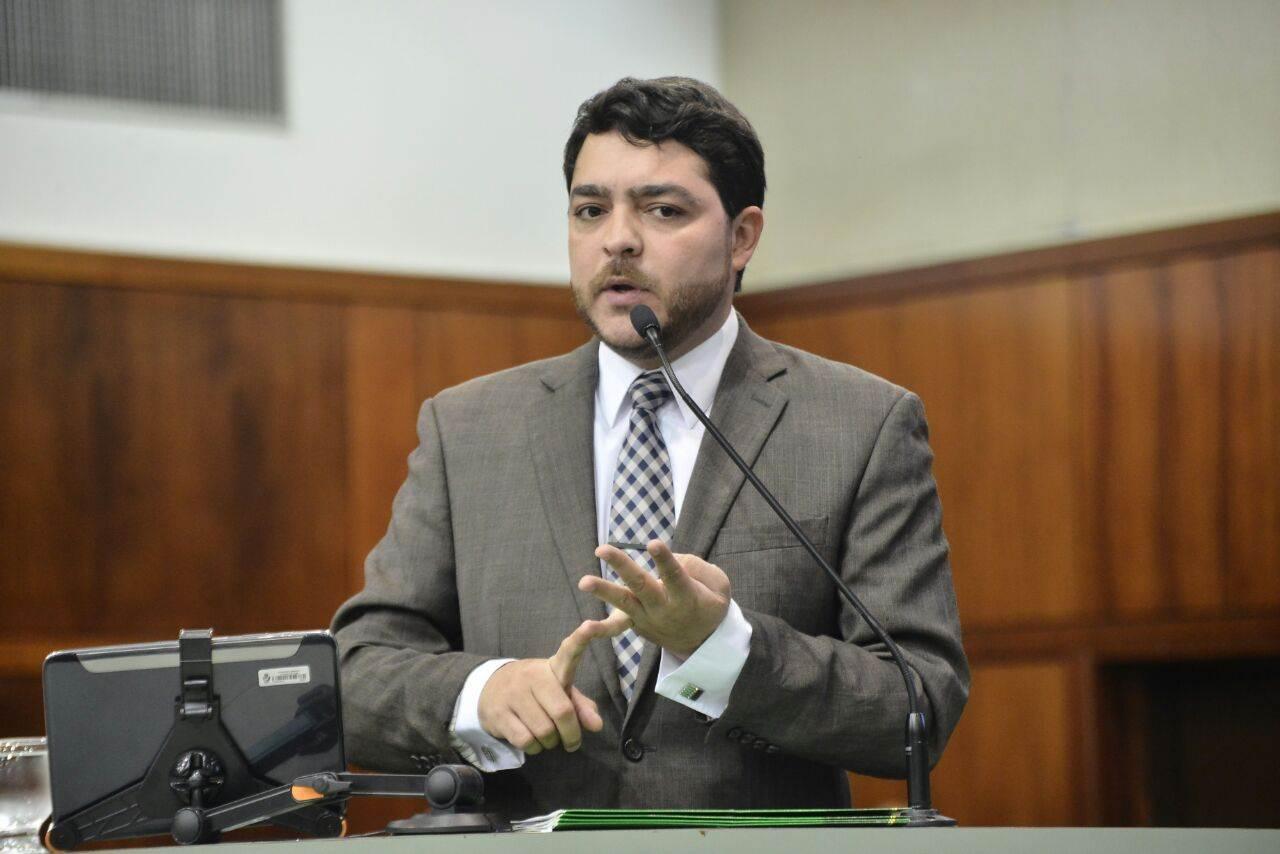 Deputado estadual Henrique Arantes (PTB) | Foto: Ruber Couto
