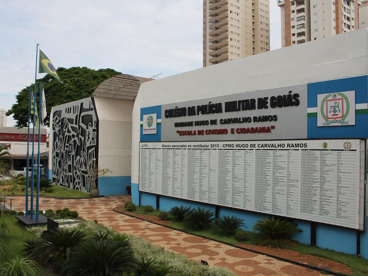 Colégio da Policia Militar de Goiás Unidade Hugo de Carvalho Ramos | Foto: Divulgação