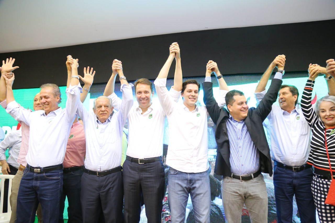 Encontro do PMDB na quinta-feira, 14, encerrou a maratona de 17 eventos do partido em Goiás | Foto: Divulgação