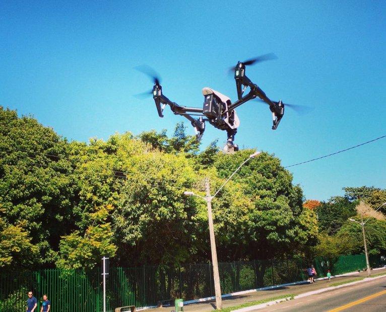 Drones para fiscalizar trânsito e segurança em Goiânia são aprovados por vereadores | Foto: Instagram/ Drone Solutions