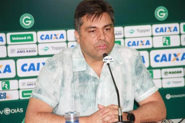 Presidente do Goiás Marcelo Almeida | Foto: Divulgação/ Goiás EC