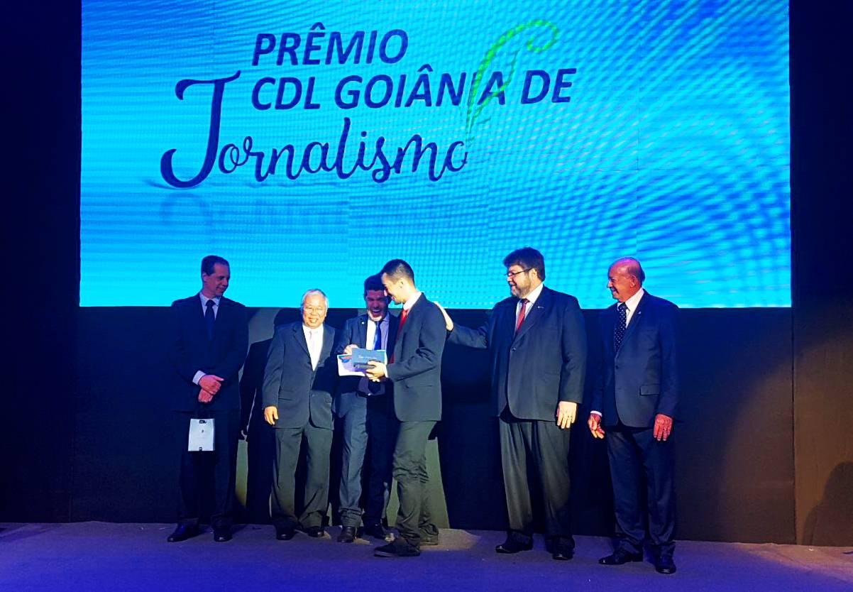Prêmio CDL Goiânia de Jornalismo: Folha Z foi um dos veículos premiados | Foto: Folha Z