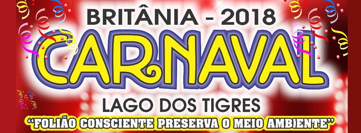 Carnaval Britânia 2018 | Foto: Divulgação