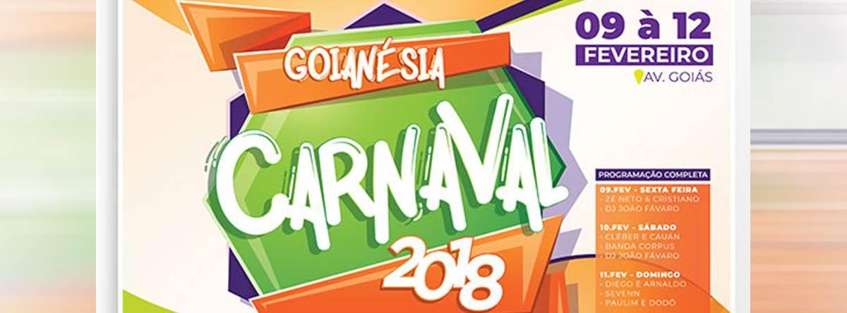 Carnaval Goianésia 2018 | Foto: Divulgação
