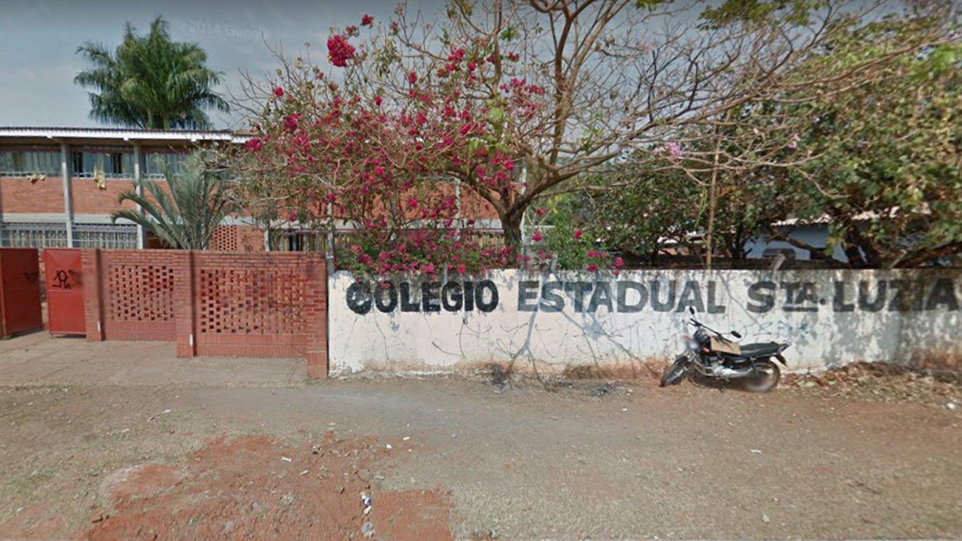 Colégio Estadual Santa Luzia | Foto: Google Maps