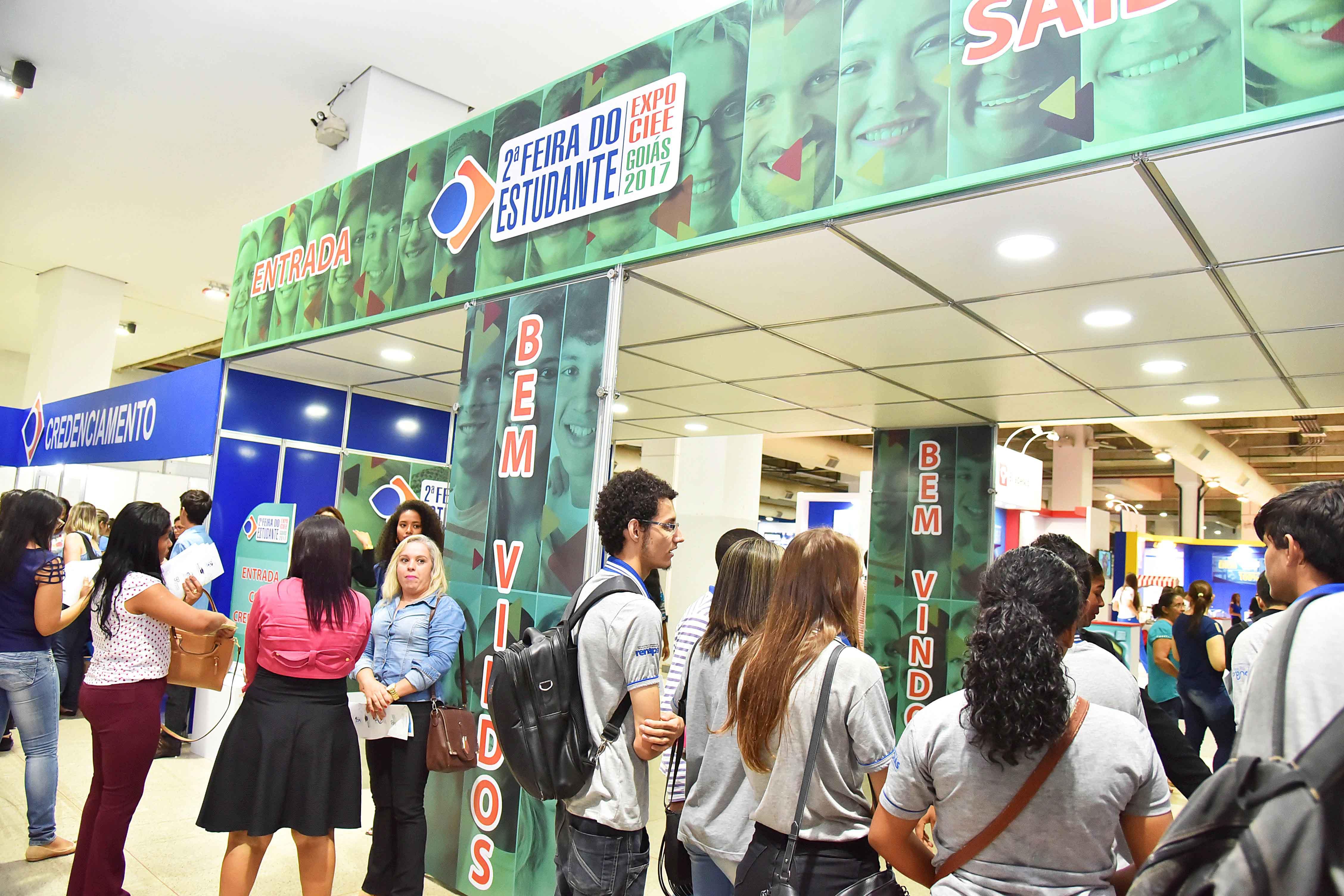 3ª Feira do Estudante – Expo CIEE Goiás 2018 começa nesta terça-feira, 9, com 2 mil vagas de estágio | Foto: Divulgação