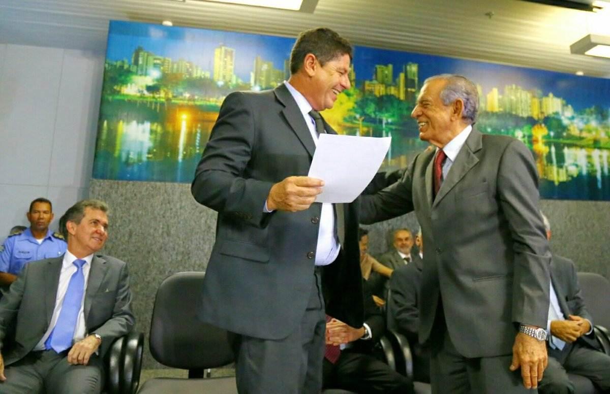 Fernando Meirelles durante posse no Paço | Foto: Divulgação / Prefeitura de Goiânia
