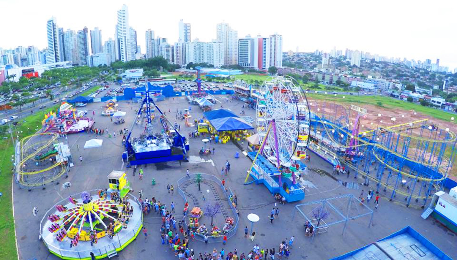 Opção para as férias: Ita Center Park volta a Goiânia | Foto: Divulgação