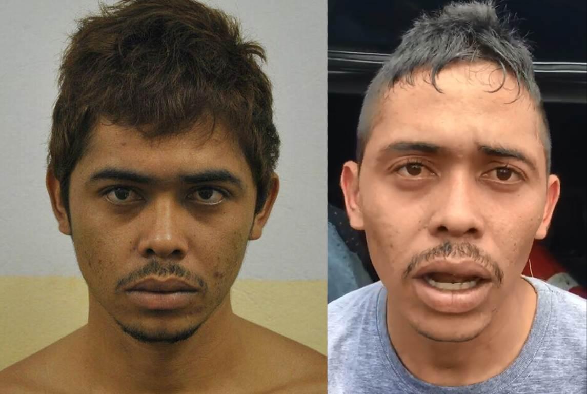Leandro e Leonardo: irmãos são presos em Goiânia por homicídios   Foto: Divulgação / PM