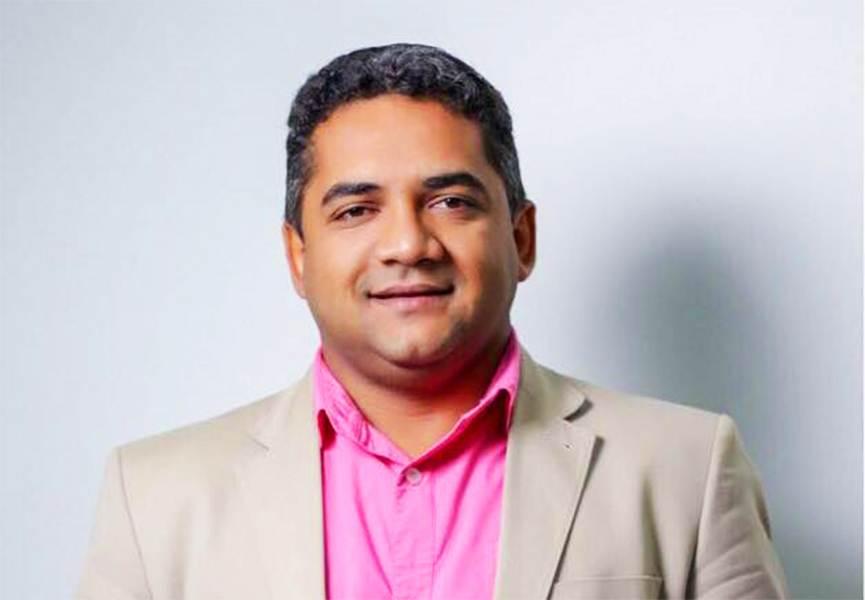 Secretário de Saúde de Senador Canedo Júlio Pina | Foto: Reprodução / Facebook