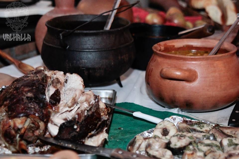 Banquete do 1º Encontro Valhalla | Foto Divulgação