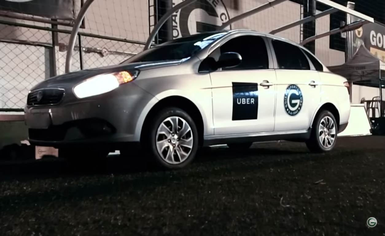 Esmeraldino que for de Uber ao Serra Dourada pagará meia-entrada   Foto: Divulgação