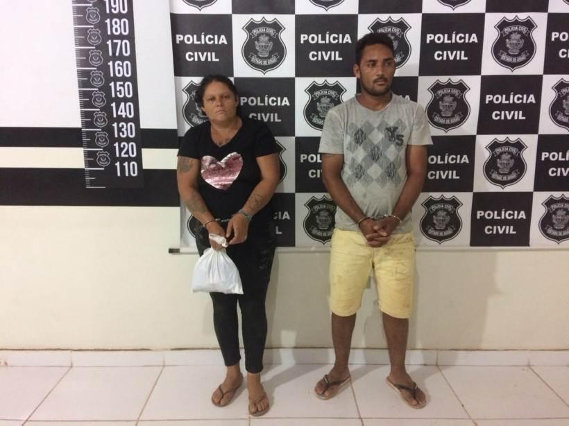Polícia Civil prende mãe e filho suspeitos de matarem pastor em Goiás | Divulgação / PC