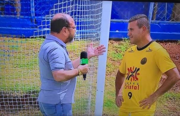 Nonato diz à TBC que Aparecidense apostava na vitória sobre o Botafogo | Foto: Reprodução