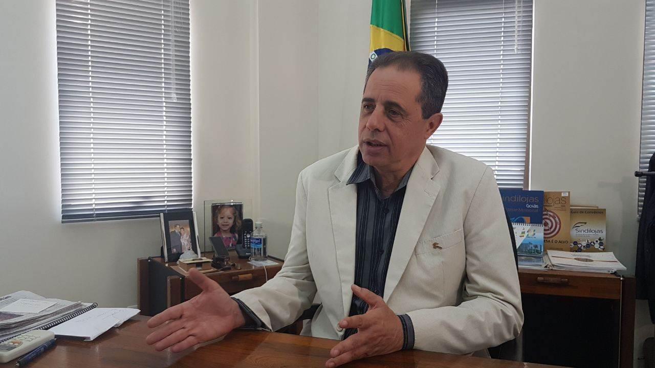 Ex-presidente do Sindilojas-GO, José Carlos Palma Ribeiro | Foto: Folha Z