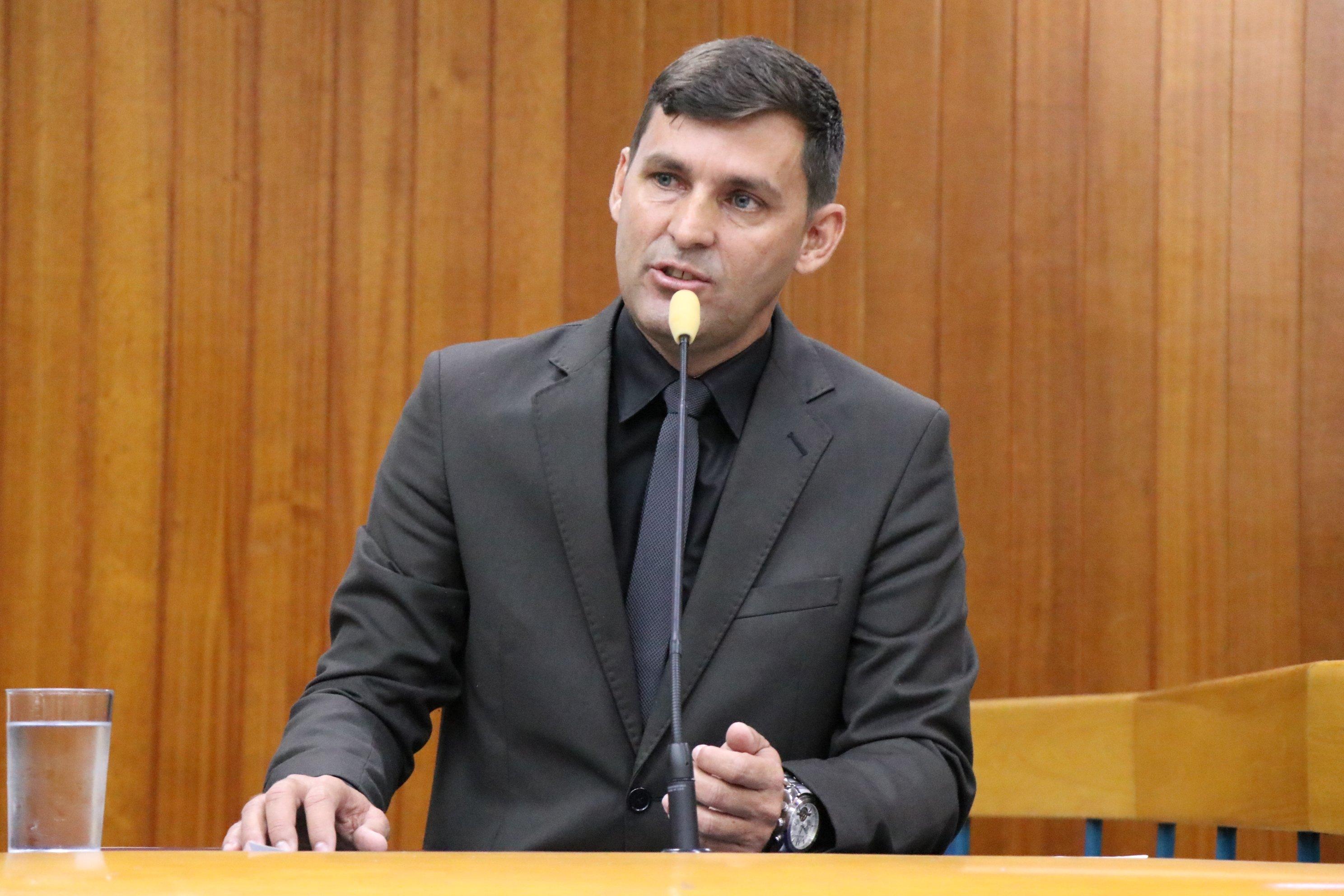 Vereador Sargento Novandir (PTN) | Foto: Câmara de Goiânia