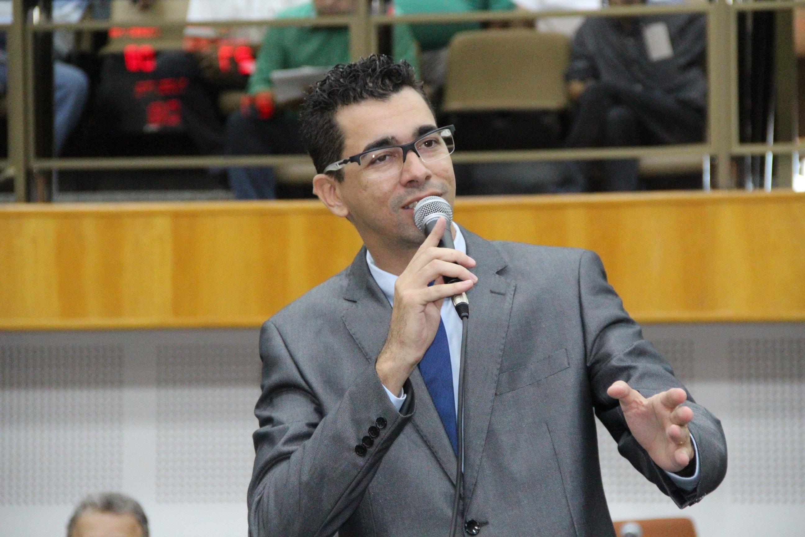 Vereador Vinícius Cirqueira (Pros) | Foto: Câmara