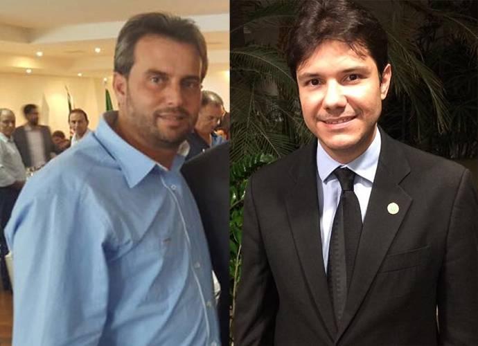 Prefeito de Leopoldo de Bulhões Alécio Mendes (PR) e presidente do Conselho Regional de Medicina de Goiás (Cremego) | Foto: Reprodução