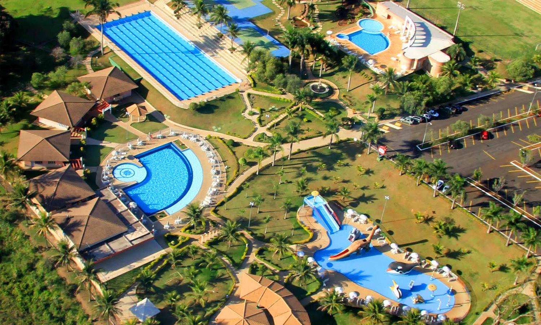 CEL da OAB clube conta com uma baita piscina olímpica para quem quer se exercitar (50 m x 21 m) | Foto: Divulgação